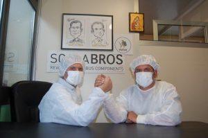 Scalabros Bologna vendita on-line di mascherine chirurgiche, camici ospedalieri, cuffie e calzari per protezione COVID 19