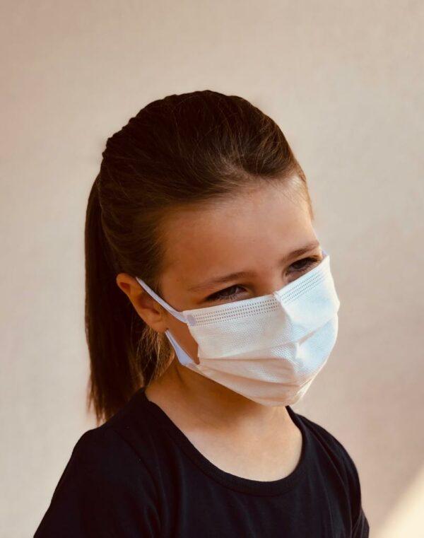 mascherina chirurgica lavabile per bambini - certificate e fabbricate in Italia