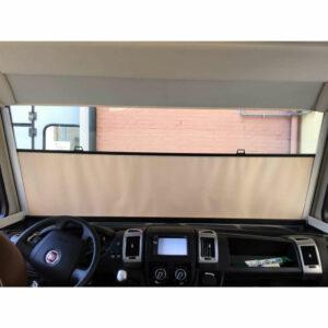 Sichtschutz-Rollo für Wohnmobil-Windschutzscheibe